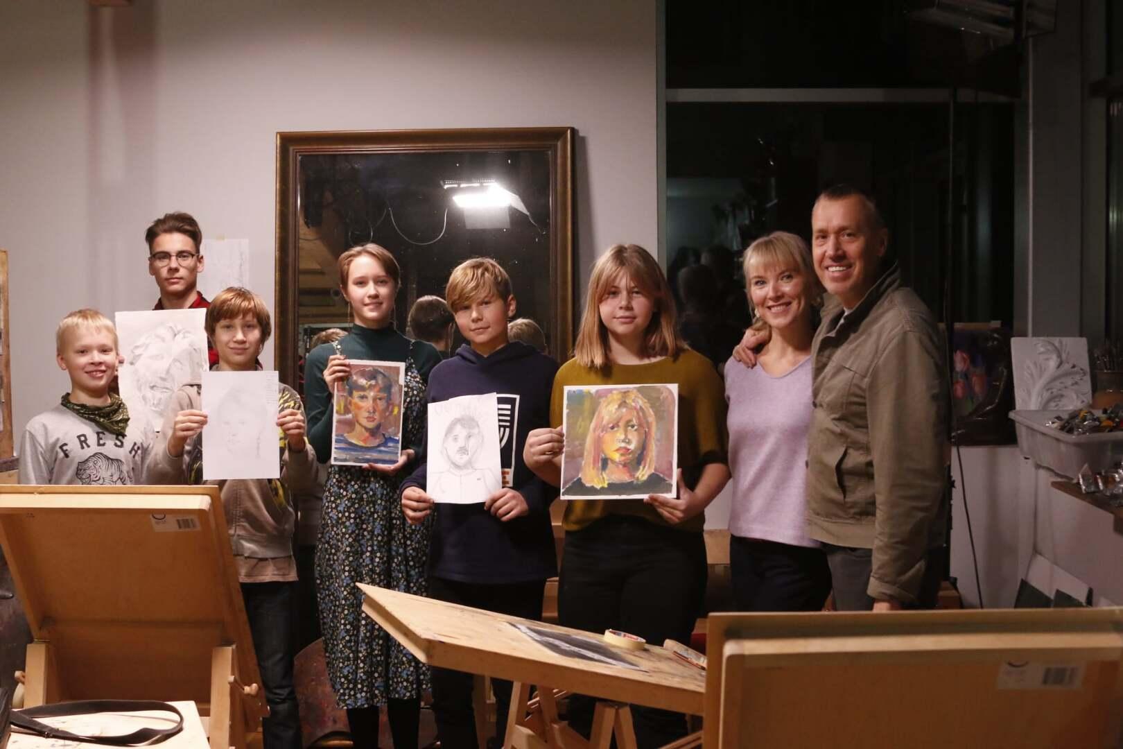 Lastekunstikooli vanem rühm novembris II