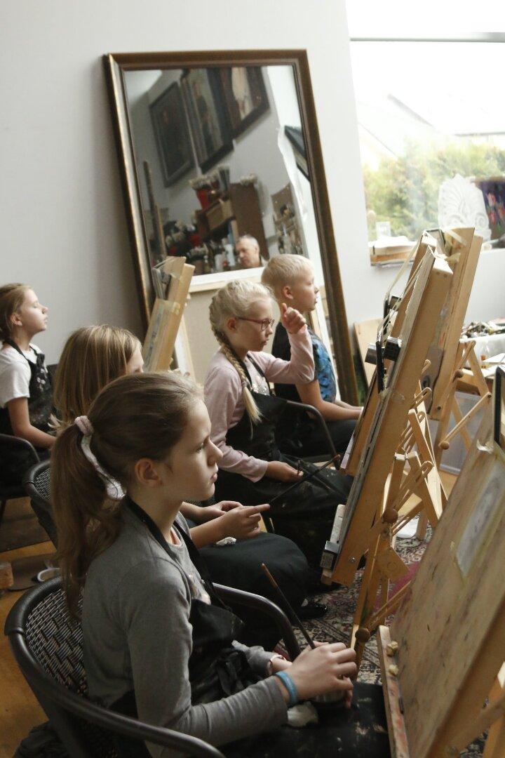 Lastekunstikooli õppepäev novembris I