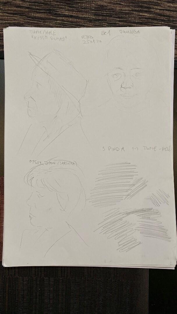 Portreekursus, meetod: mägi