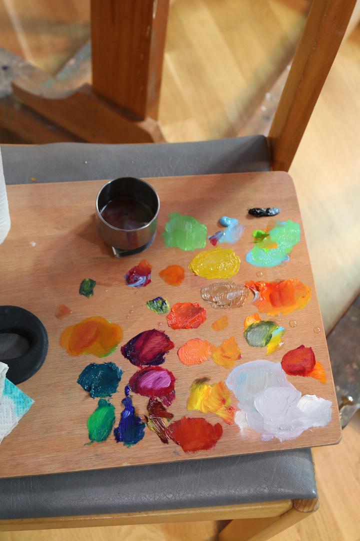 Värviõpetuse kursus Sauel