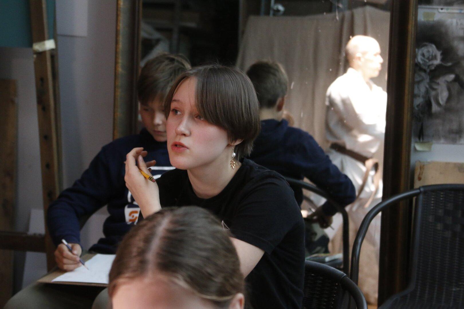 Lastekunstikooli õppepäev