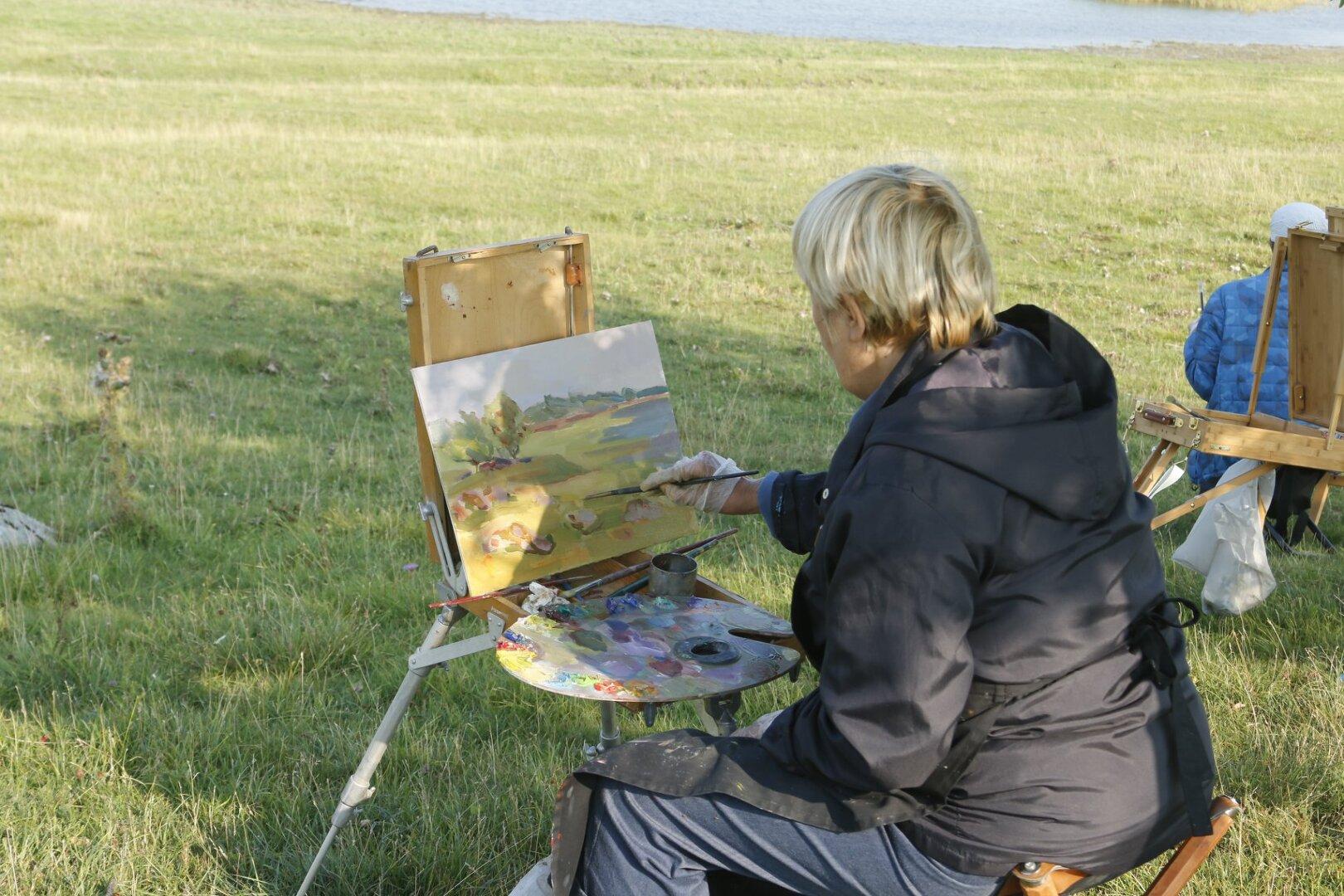 Puise nina maalilaager 3