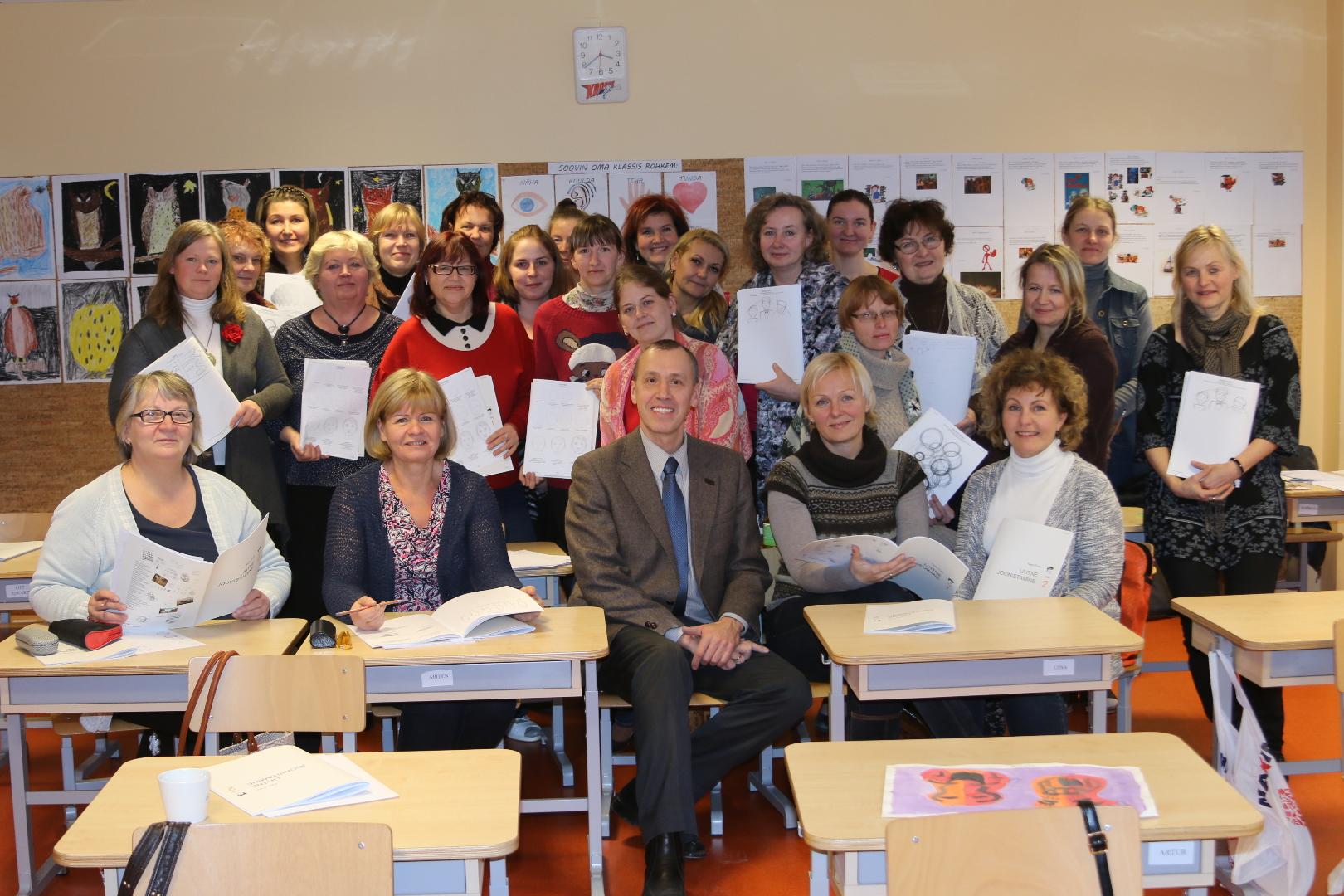 Õppepäev Kose valla algklasside kunstiõpetajatele