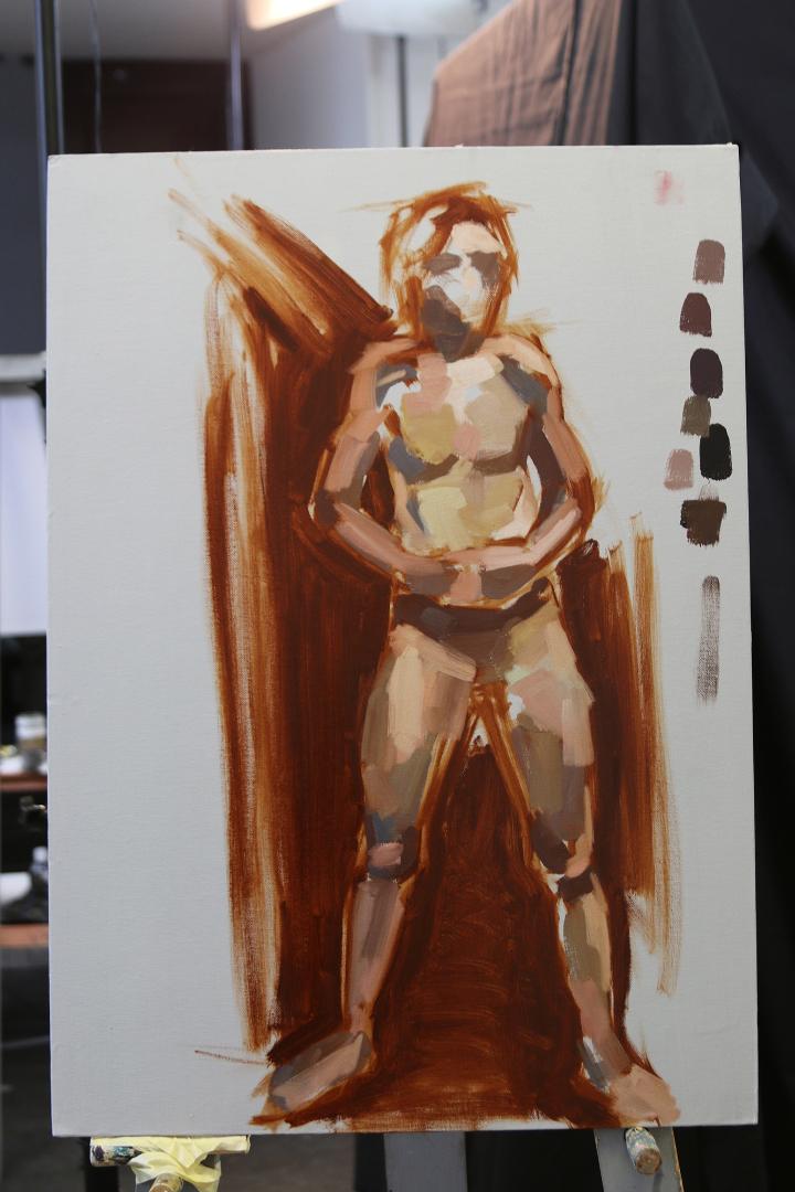 Eesti Kunstiakadeemia, maali 2. kursus