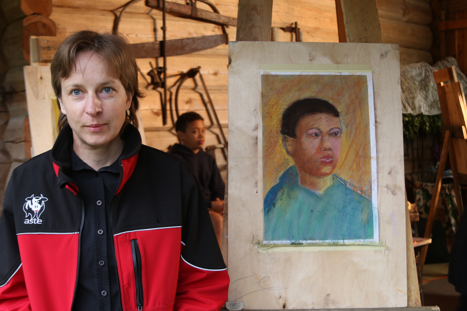 Kingituseks Aapo Puki portreekursus