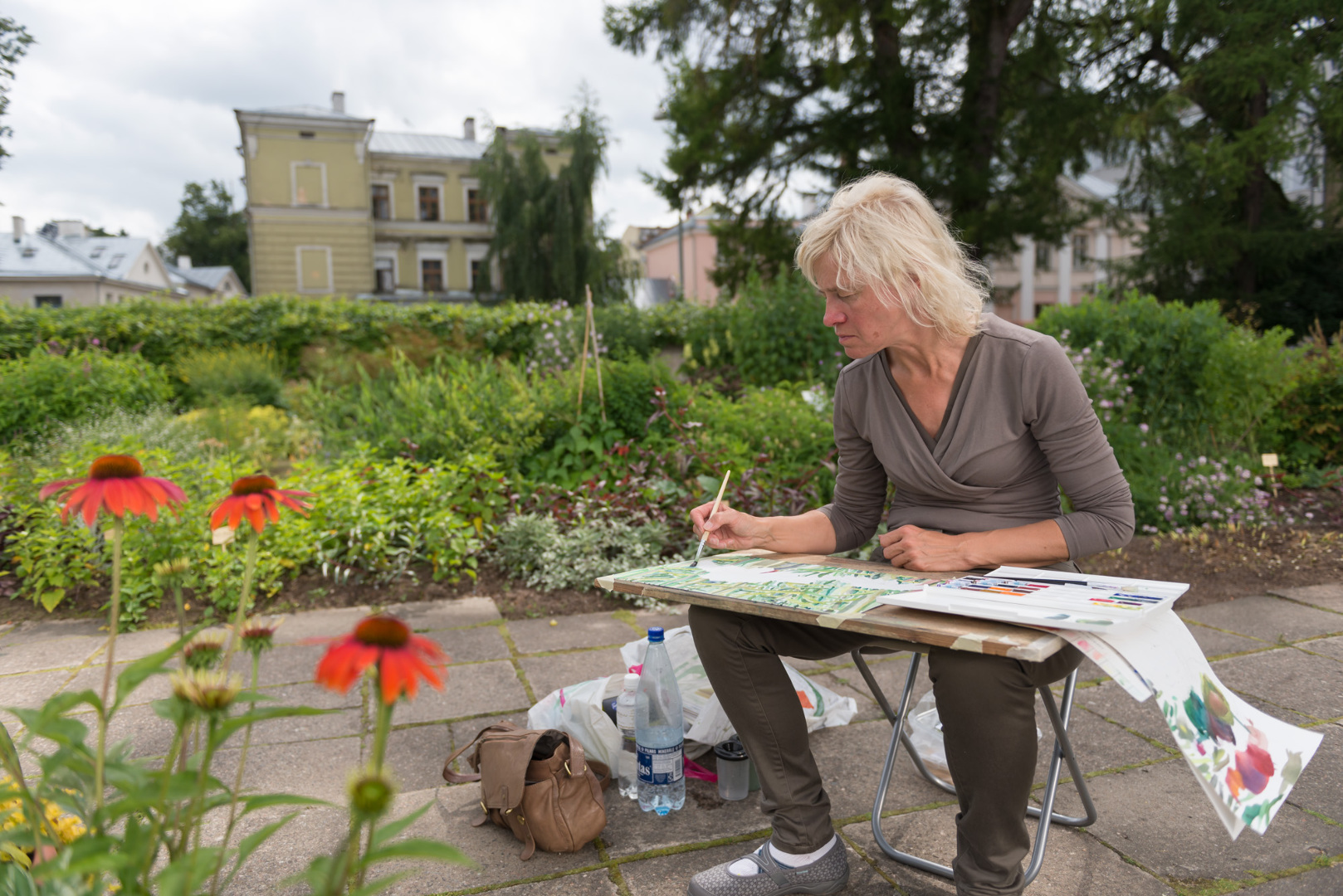 Suvekursus Tartu Botaanikaaias