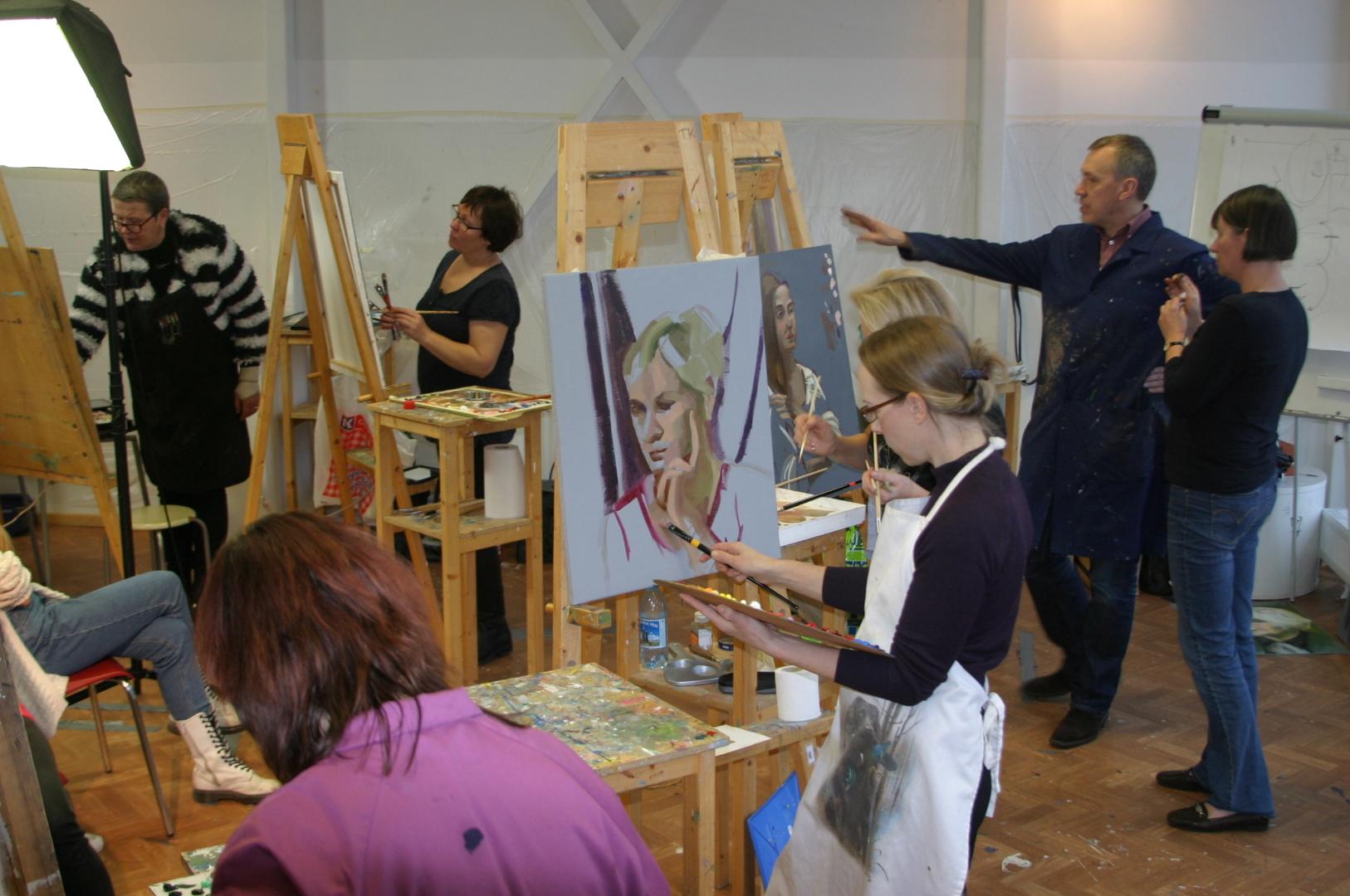 Karakterportree kursus Tartus