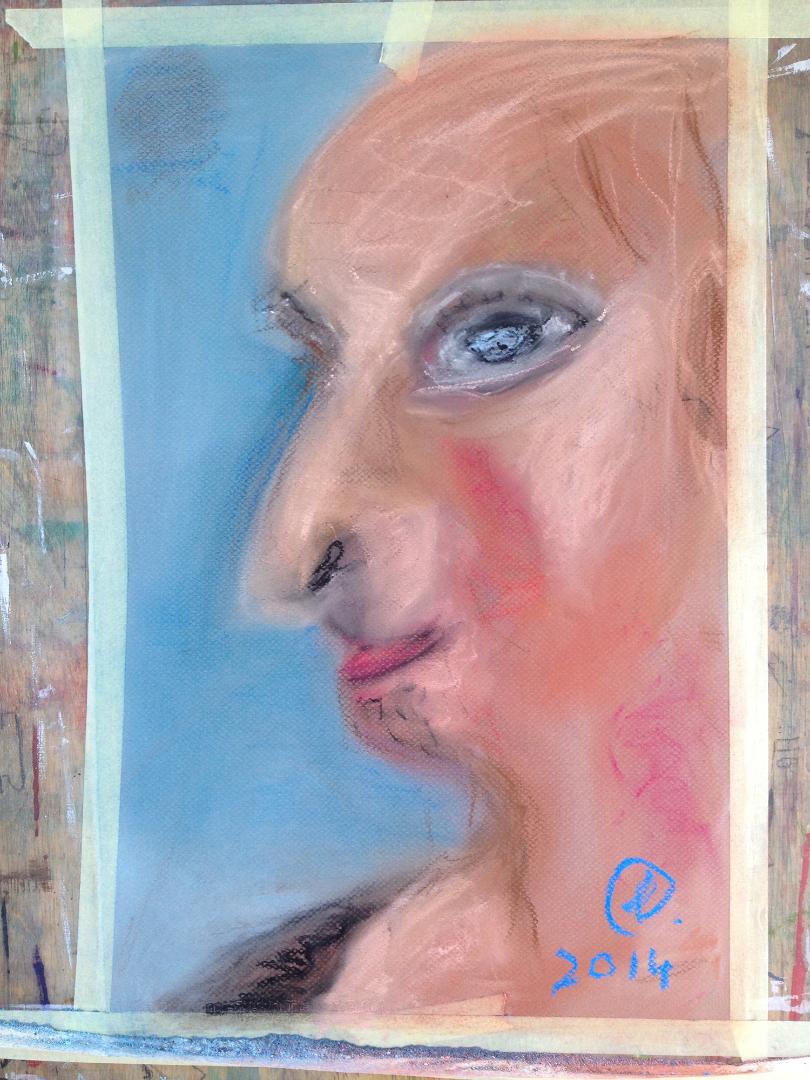 Suur portreekursus – PASTELLIST ÕLINI