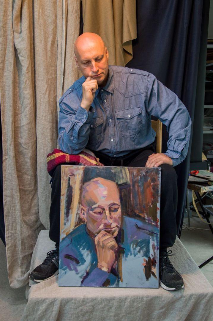 Portreekursus õlis