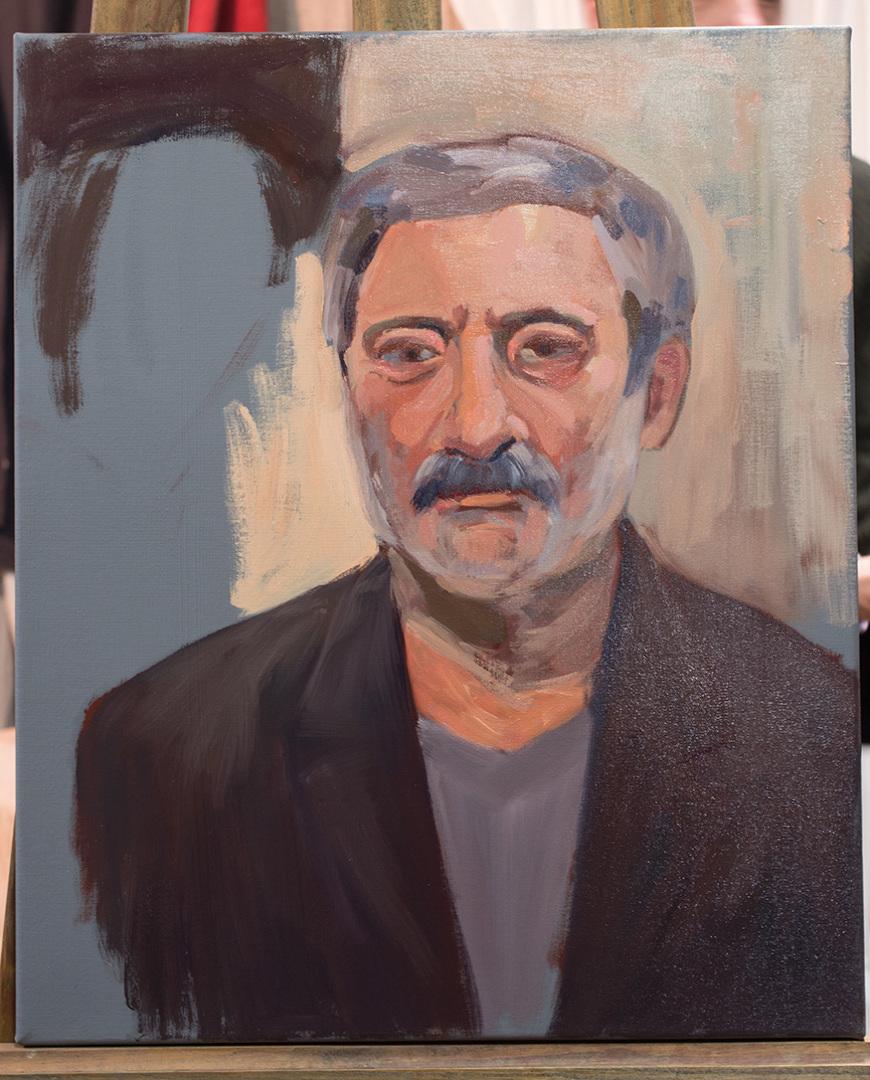 Eesti Kunstiakadeemia Avatud Akadeemia grupile suur portreekursus