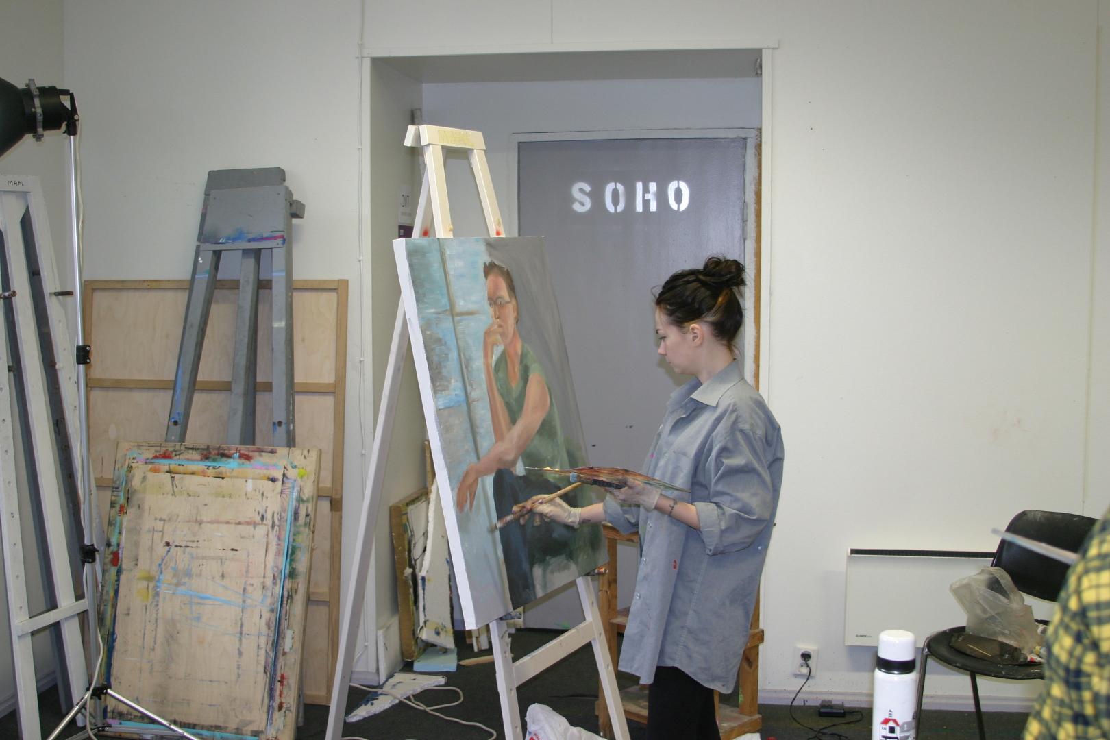 Eesti Kunstiakadeemia maali 2. kursus