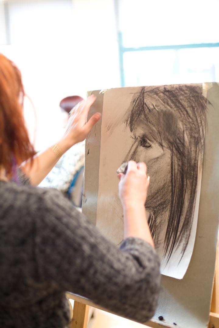 Suur portreekursus Valga Muuseumis