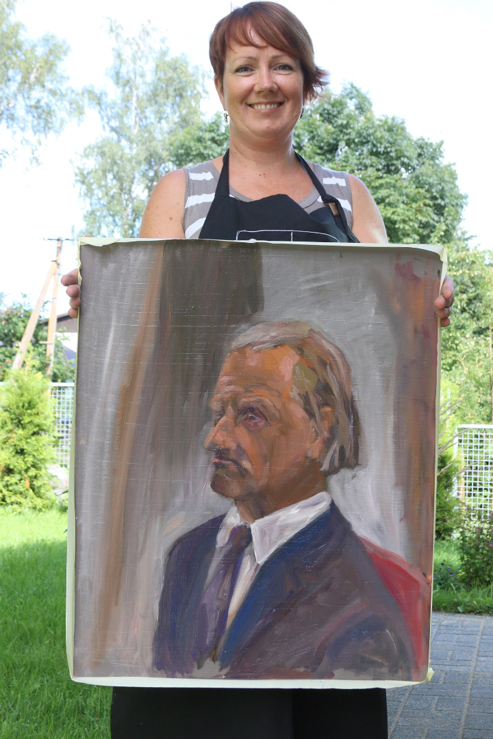 Augustikuine portreekursus