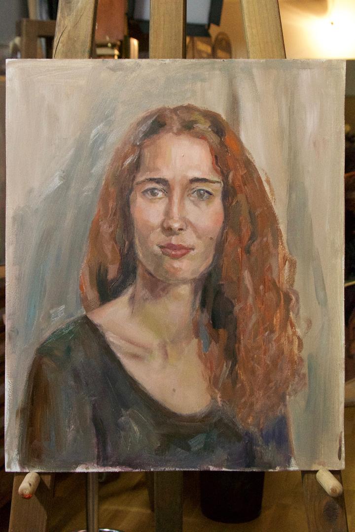 Foto pealt oma modelli maalimine
