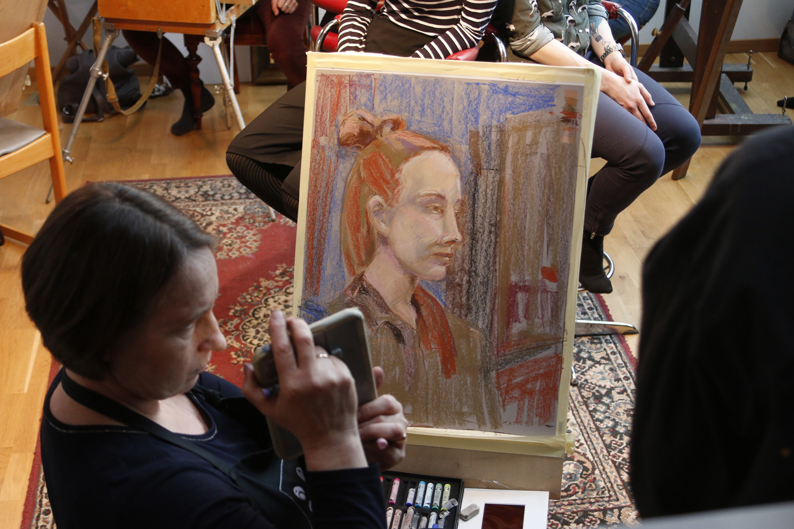 Klassikaline pastellportree kursus