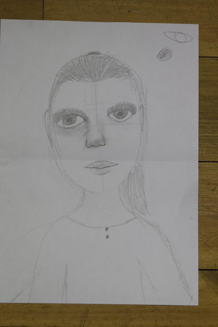 Portreetund Püha Miikaeli Koolis