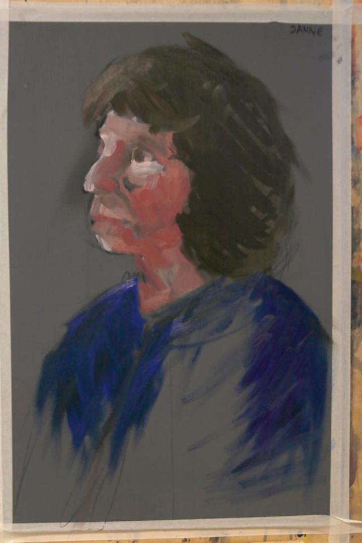 Traditsiooniline kaasaegne portree Eesti Kunstiakadeemias