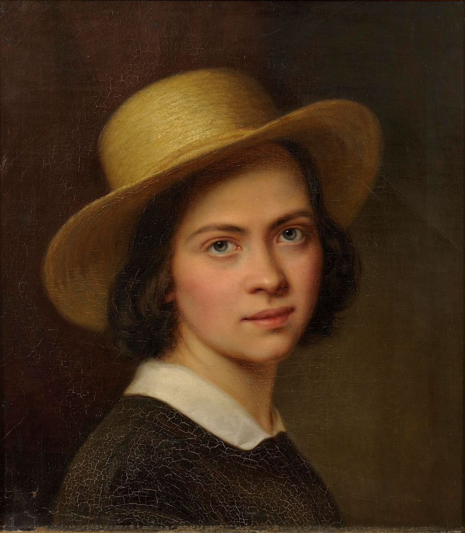 Koopiamaali portreekursus, Julie Hagen-Schwarz