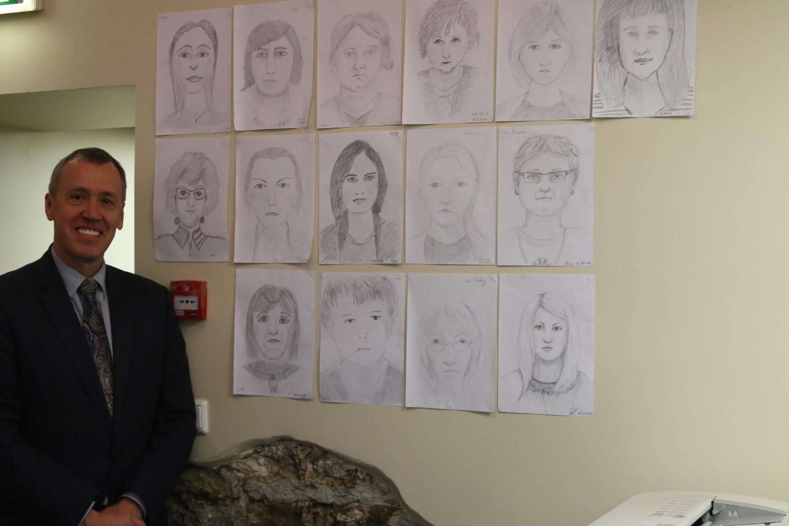 Portreekursus ametiasutuses