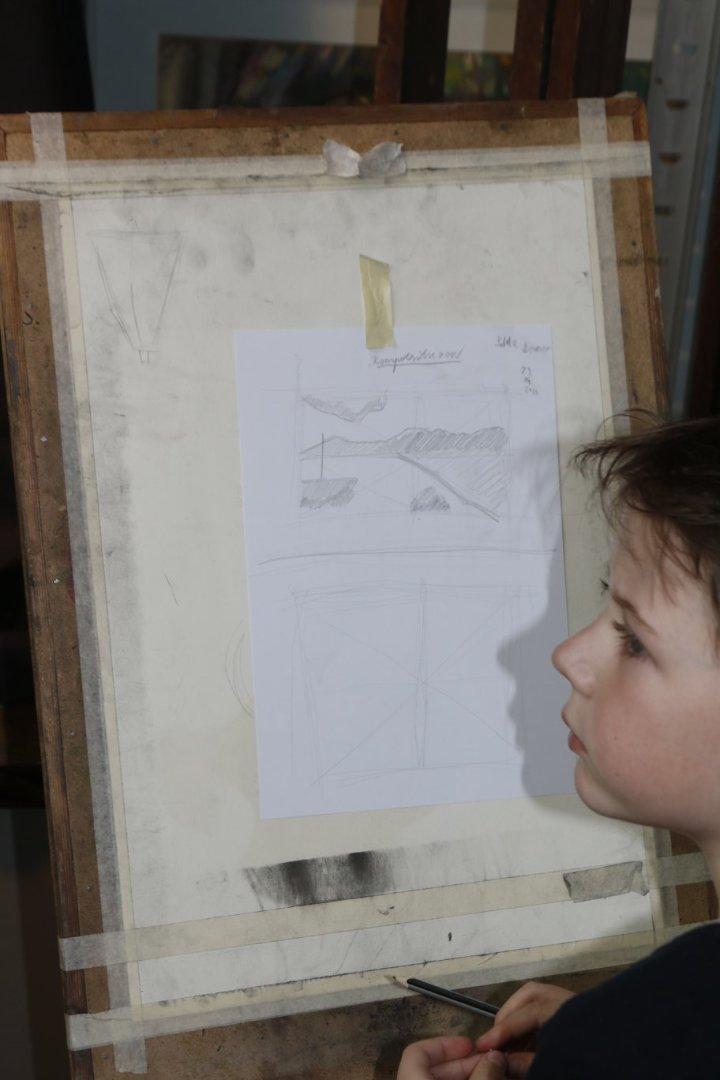 Joonistamise algkursus vanusele 10-14