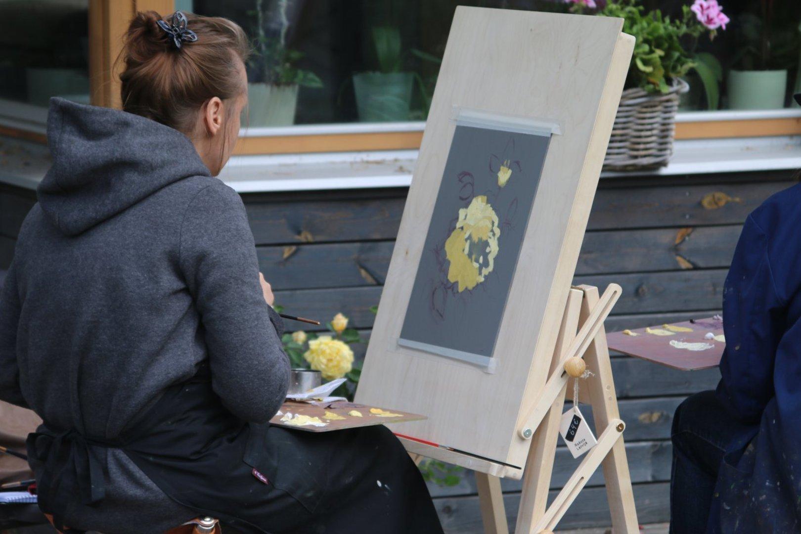 Lillede maalimise kursus