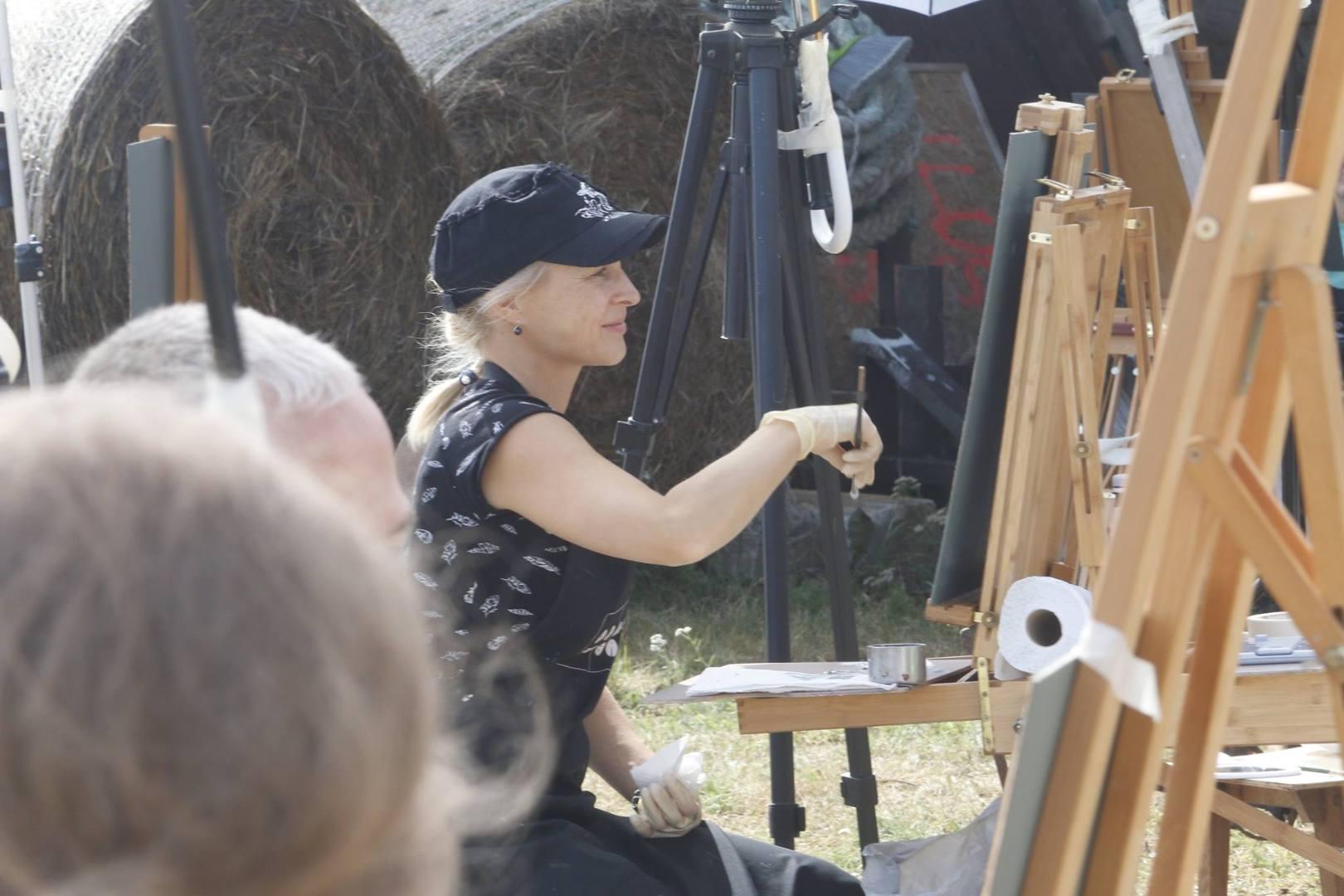 Puise Nina Maalilaager 2