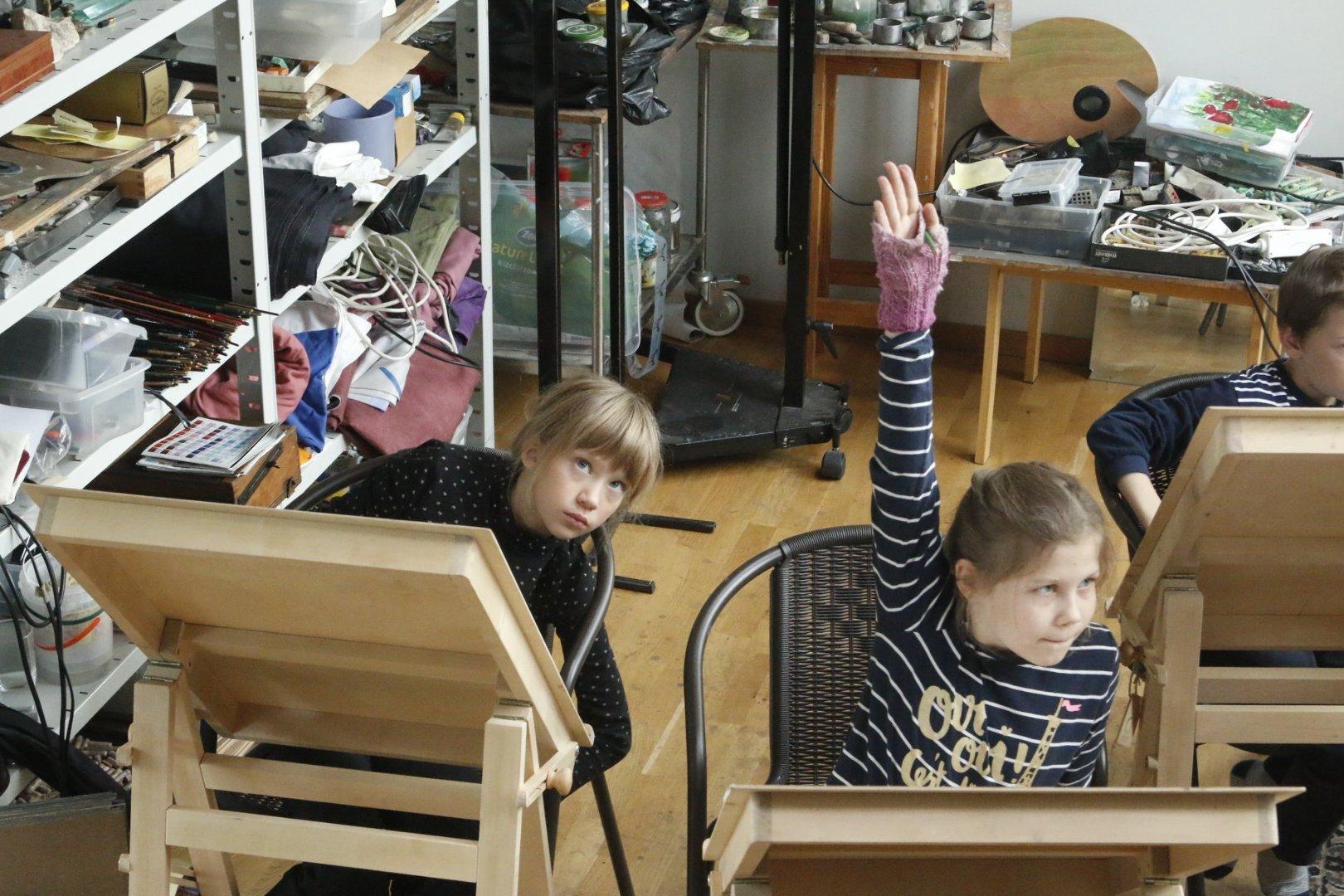 Aapo Puki Lastekunstikooli grupp vanusele 8-10