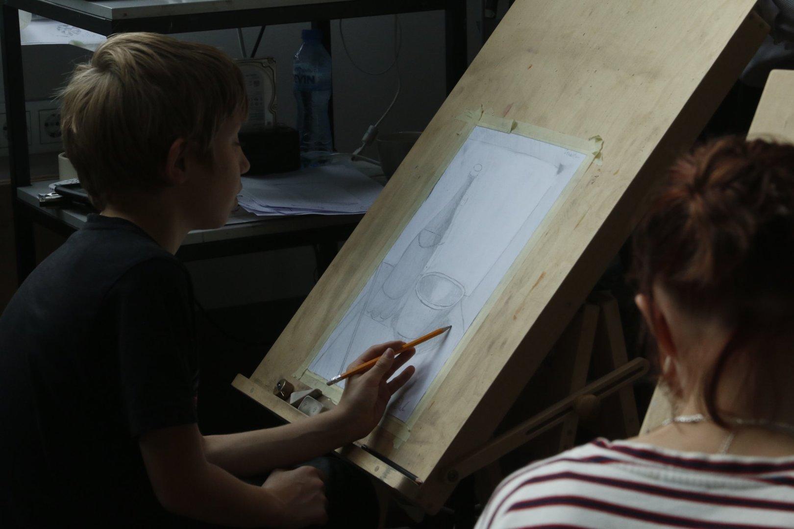 Aapo Puki Lastekunstikooli grupp vanusele 11-14